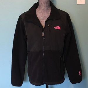 The North Face Pink Ribbon Cancer Fleece Jacket L